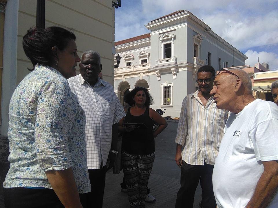 Esteban Lazo visita obras por el aniversario 325 de Matanzas