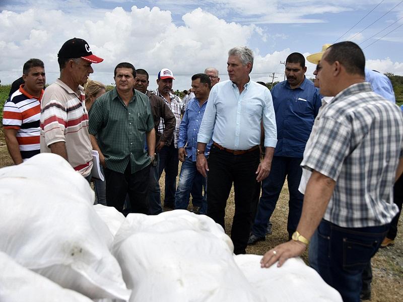 Encabeza Miguel Díaz-Canel visita de gobierno a Holguín