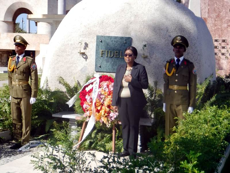 Namibian Prime Minister pays tribute to Cuban heroes
