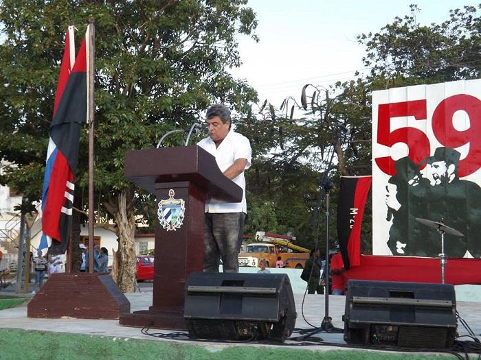 Celebraron los pineros aniversario 59 del triunfo de la Revolución cubana