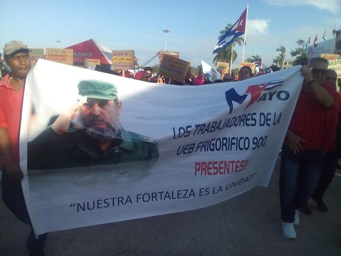 Ratifica movimiento sindical avileño apoyo a proceso revolucionario cubano
