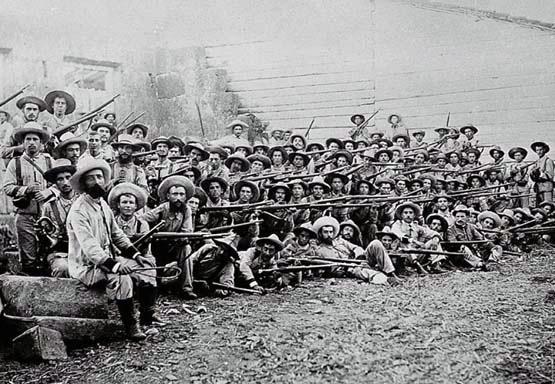 Combate de La Indiana: derrota decisiva del mando español