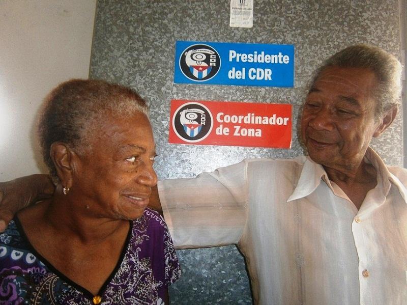 En Cienfuegos la bisabuela Teresa Terry: Una vida con los CDR