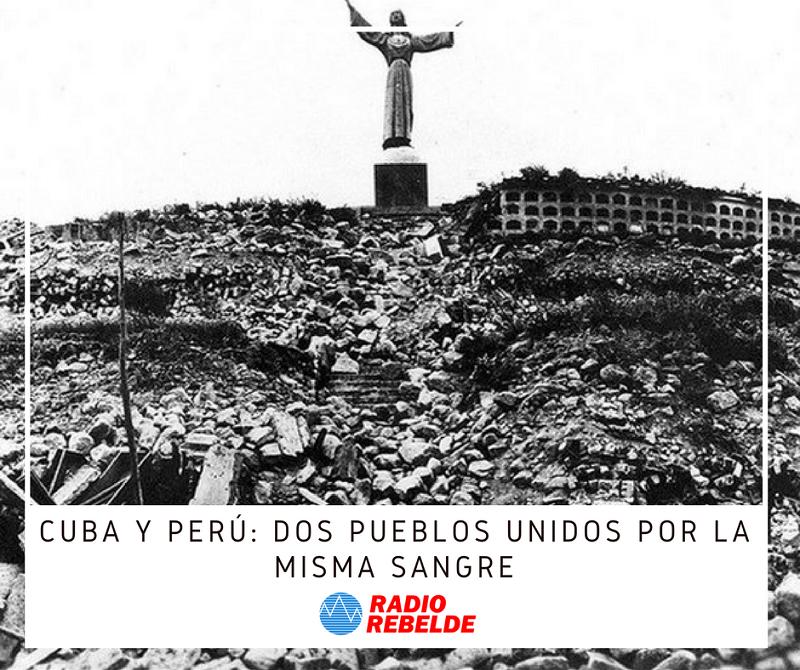 Cuba y Perú: dos pueblos unidos por la misma sangre