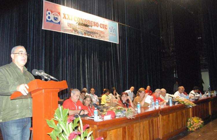 Celebrada Conferencia Provincial XXI Congreso de la CTC en La Habana