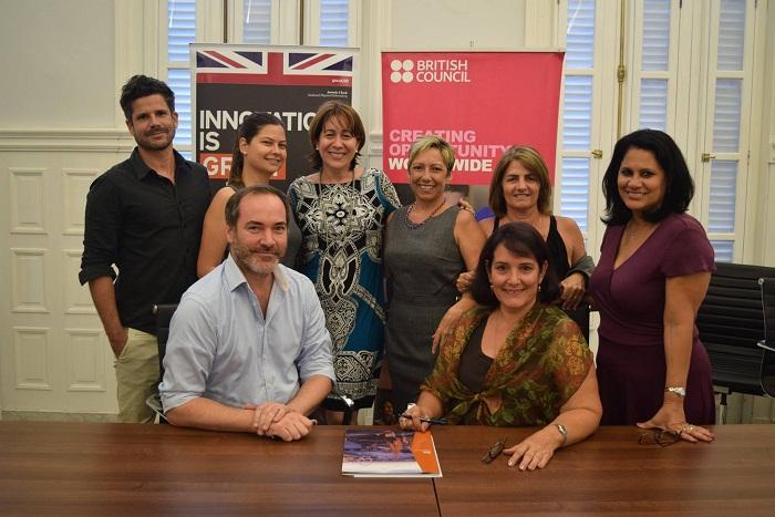 Idioma inglés y arte: 20 años del British Council en Cuba