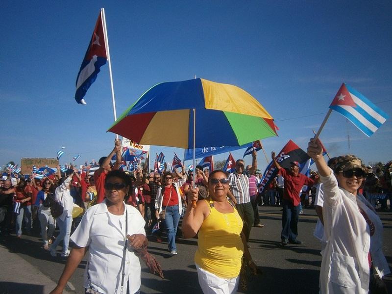 Trabajadores del turismo desfilarán el Primero de Mayo