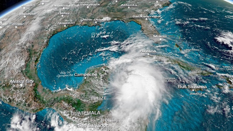 Espera Florida impacto del potencialmente catastrófico huracán Michael