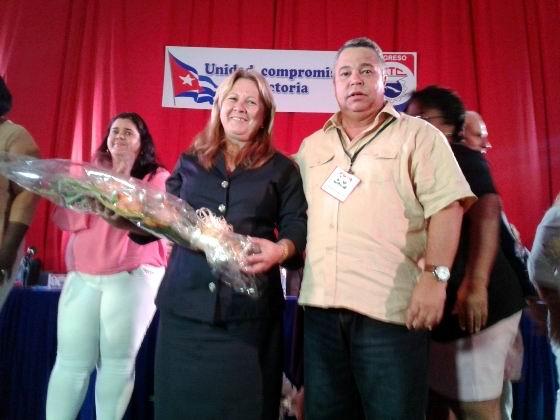 Reconoce Ulises Guilarte Asamblea XXI Congreso de la CTC en Cienfuegos