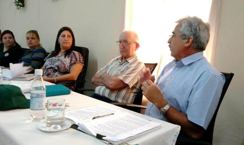 Encuentro de Rosales del Toro con directivos del sistema de Justicia