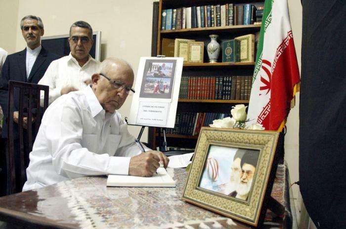 Expresa Cuba condolencias por las víctimas del terremoto en Irán