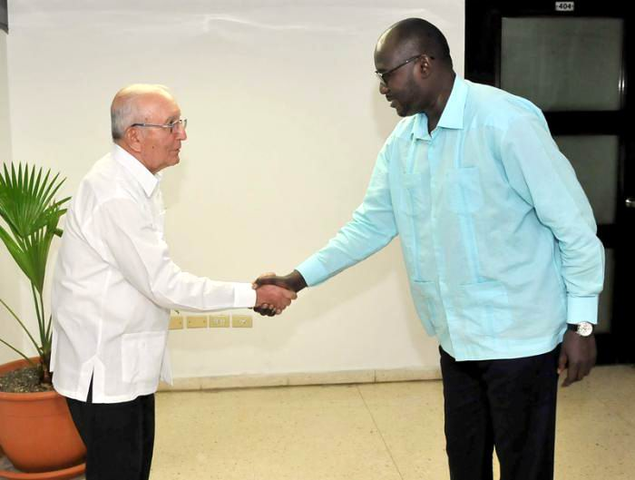 Ulises Rosales del Toro Meets with Niger's Foreign Minister