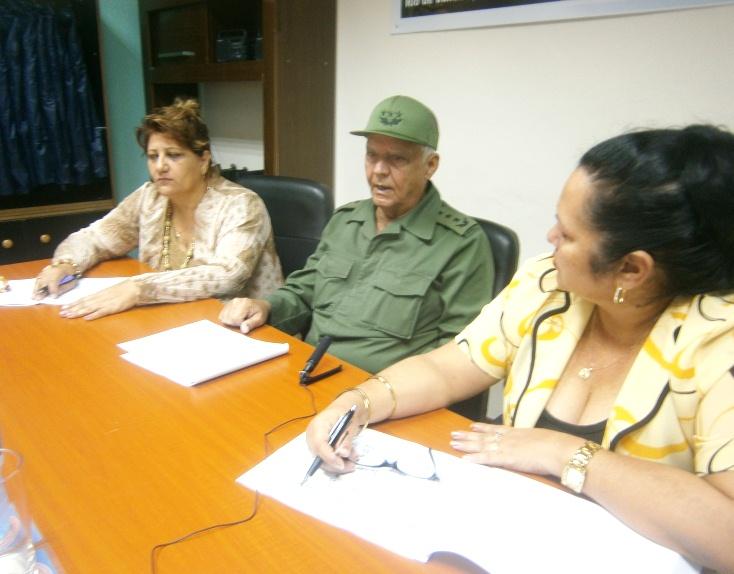 Evalúa viceministro de las FAR recuperación de Cienfuegos tras el paso de Irma (+Audio)