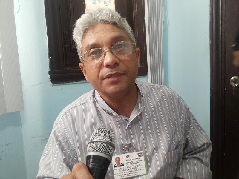Pedro Miguel Viltres Pérez, vicepresidente de la Comisión Electoral Provincial de La Habana