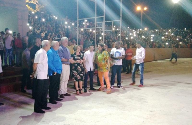 Díaz-Canel en Camagüey con la confianza de que, entre todos, la Revolución saldrá más fortalecida