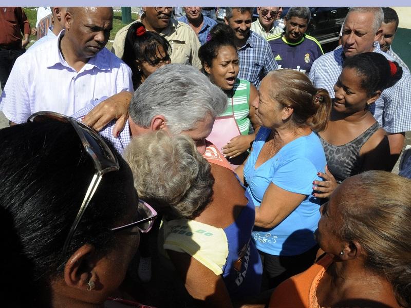 Concluye presidente cubano visita a Guantánamo