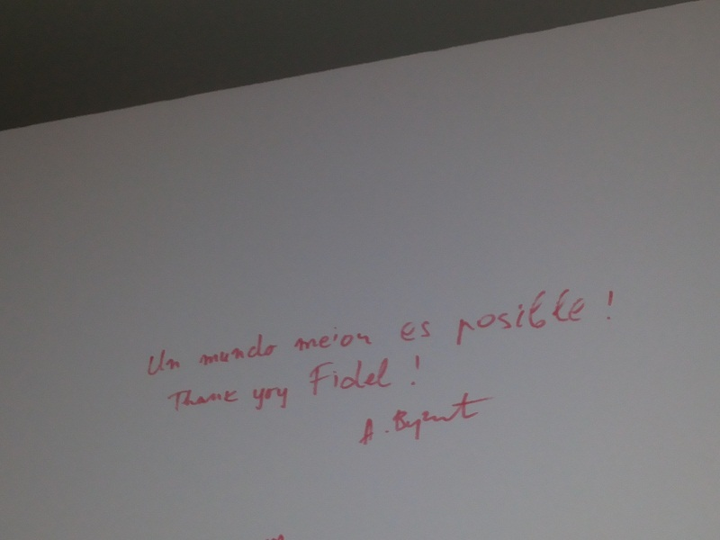 """Visita Presidente de Serbia Exposición Fotográfica """"Fidel y la política exterior de la Revolución Cubana"""""""