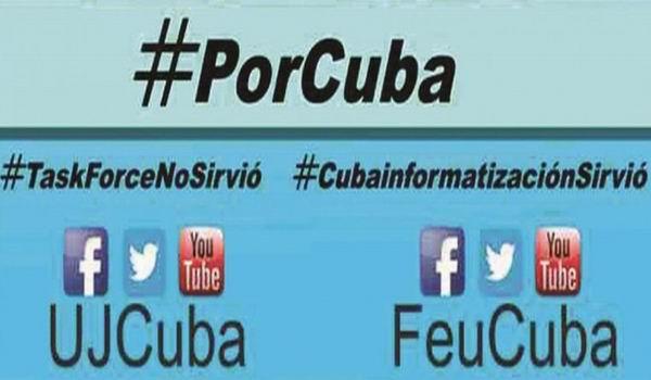 Convocan la FEU y UJC a avispero digital Voto Por Cuba