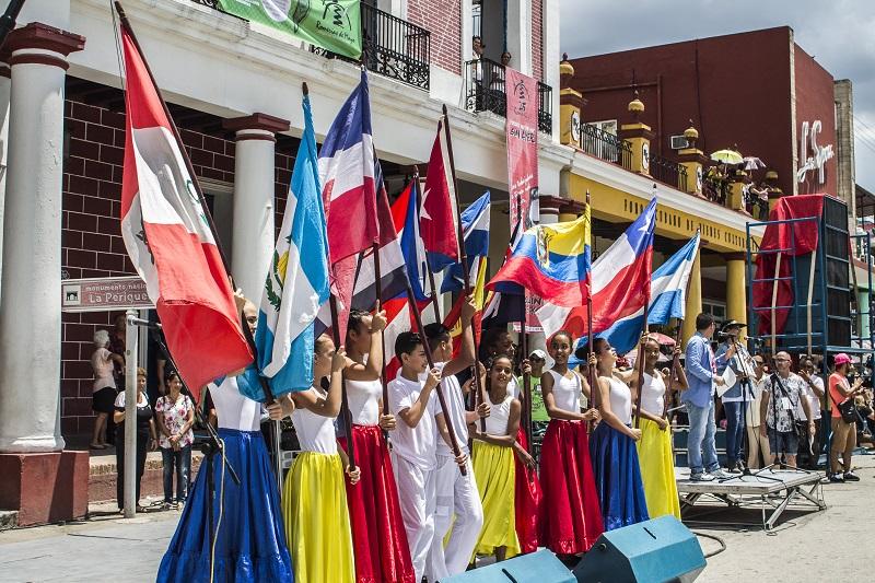 Delegaciones de más de 20 países se dieron cita en la ciudad de Holguín con lo mejor del arte joven