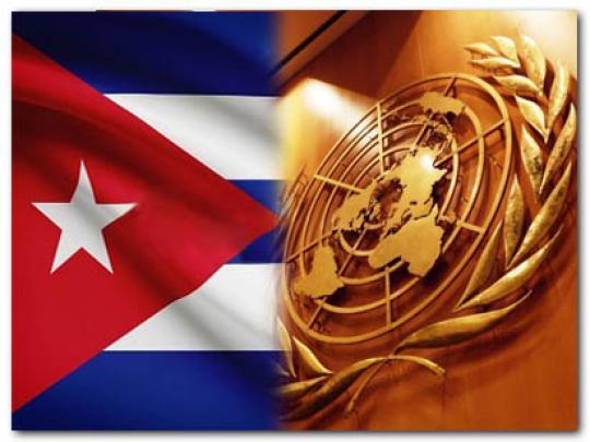 Cuba repeats support for international law and multilateralism