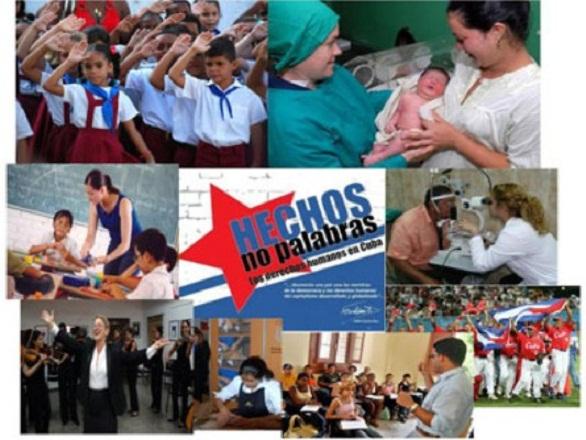 Cuba y los derechos humanos de otros pueblos del mundo