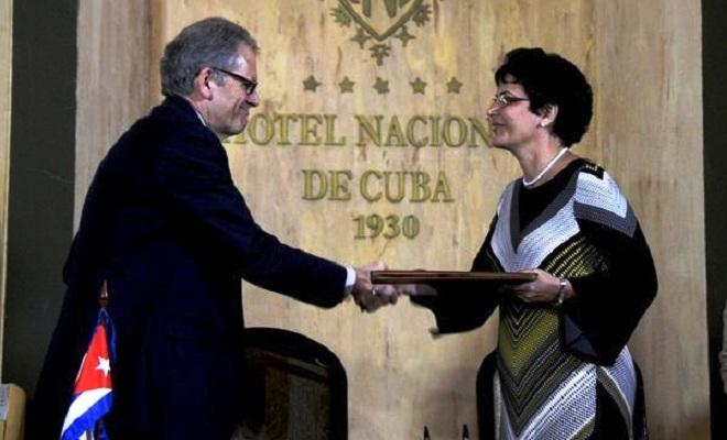 Rubrican Cuba y Estados Unidos acuerdo sobre búsqueda y salvamento (+Audio y Fotos)