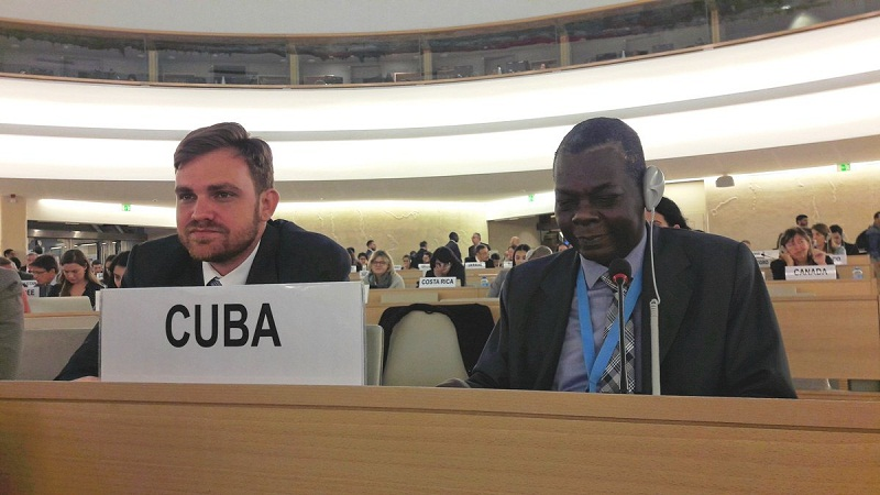 Rechaza Cuba en Naciones Unidas manipulación del tema derechos humanos