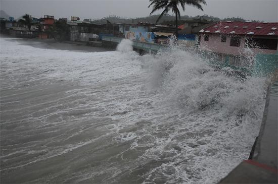 Imágenes del impacto del Huracán Irma al Oriente de Cuba