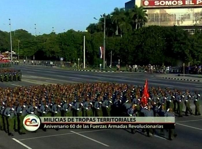 Las MTT en Revista Militar y marcha del pueblo combatiente en Cuba
