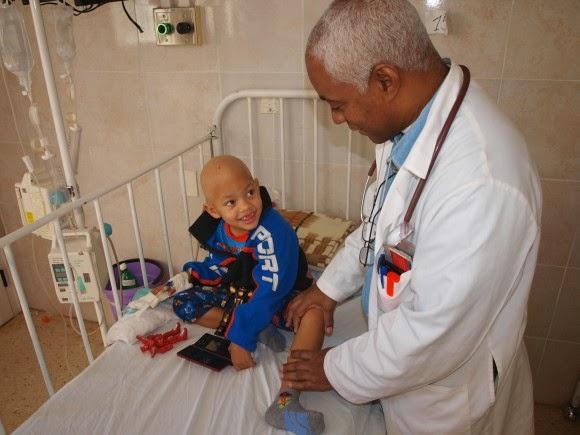 Salud cubana frente al bloqueo