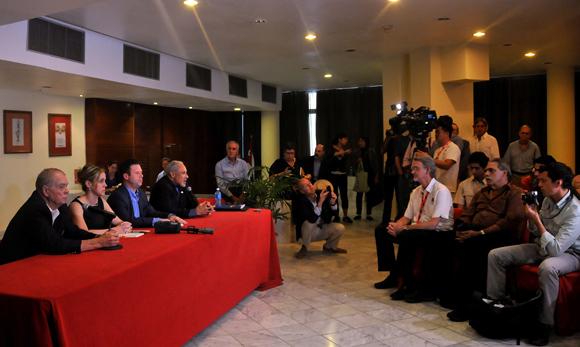 Concluyen programa en Cuba empresarios agrícolas norteamericanos. Foto: Ladyrene Pérez