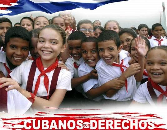 Cubanos con derechos. Foto: Yaciel Peña
