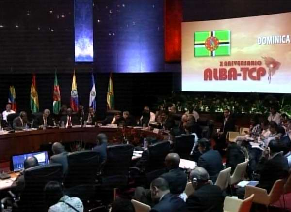 Political-cultural Gala for the 10th Anniversary of ALBA-TCP