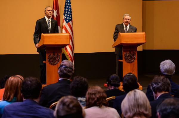 Declaraciones de Raúl y Obama se posicionan en la prensa internacional. Foto: Marcelino Vázquez