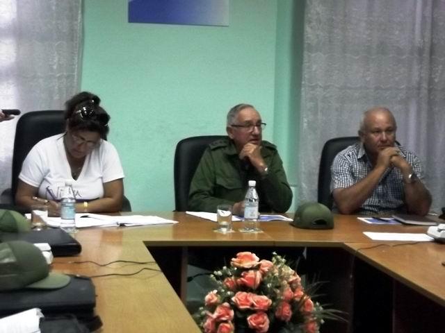 Grupos de Trabajo del Consejo Defensa actúan en Camagüey. Foto: Miozotis Fabelo