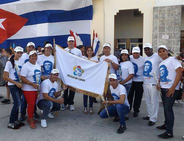 Abanderarán delegación cubana al Festival de Sochi