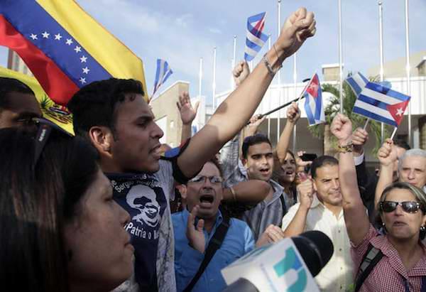 Comunicado de prensa de la delegación cubana asistente al Foro de la Sociedad Civil en Panamá. Foto Ismael Francisco