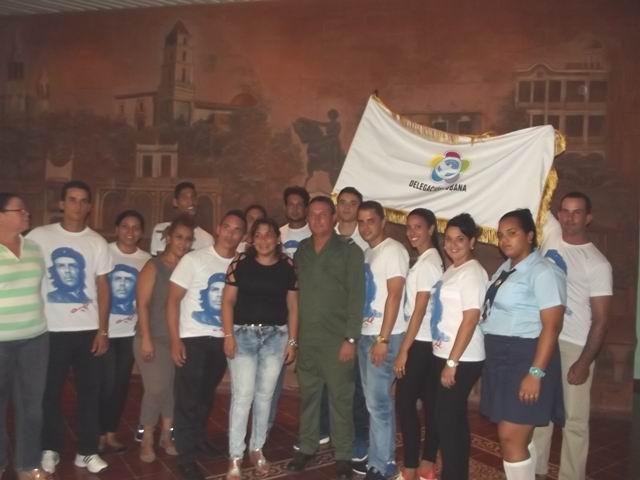Los doce jóvenes de esta provincia se sumarán a los 250  del país que representarán al pueblo de Cuba y a su Revolución en Sochi. Foto: Miozotis Fabelo