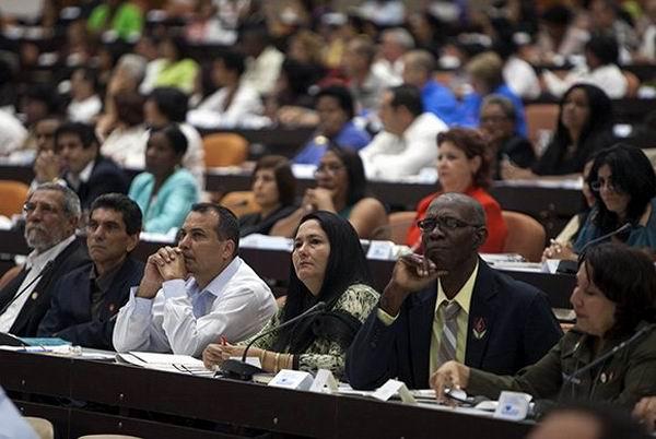 VIII legislatura de la Asamblea Nacional. Foto. Ladyrene Pérez