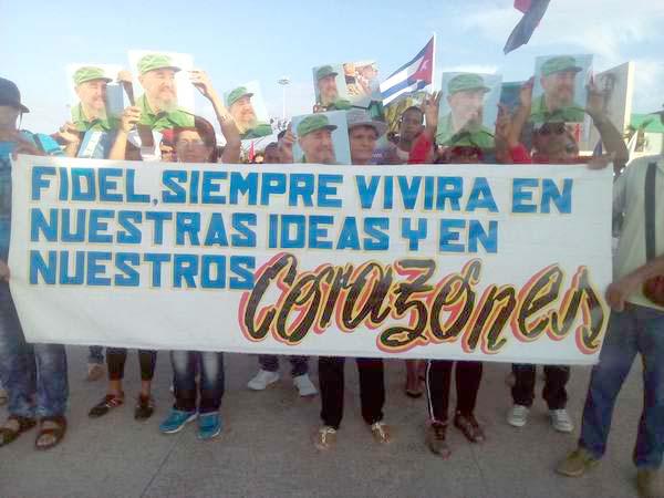 Patriótico desfile por el Primero de Mayo en Ciego de Ávila