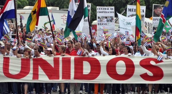 Somos millones de cubanos dispuestos a defender la obra de la Revoluci�n (+Audio)