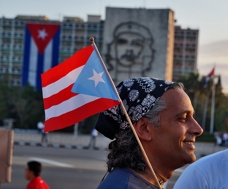 Todos fuimos Fidel este primero de mayo. Fotos: Sergei Montalvo Aróstegui