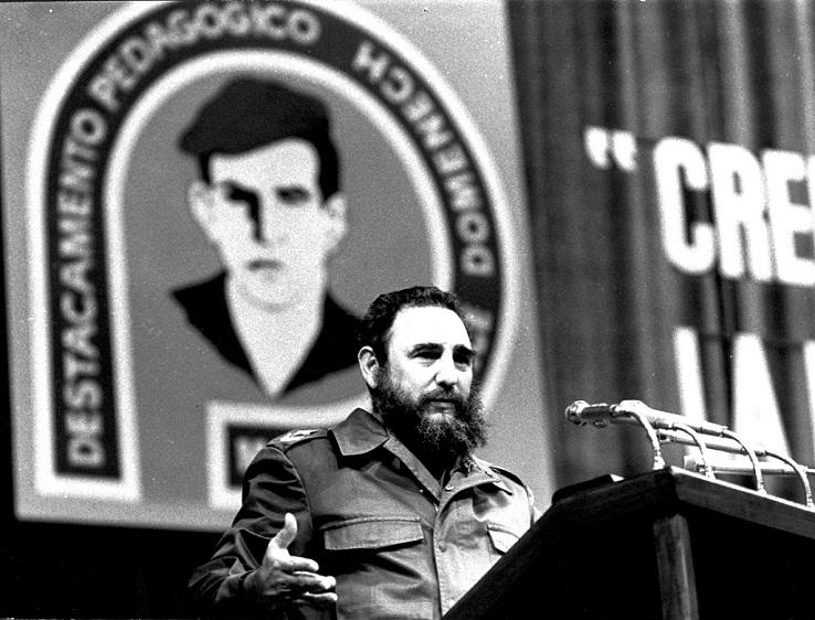 """Fidel Castro: """"Destacamento Pedagógico Cubano, garantía de nuestro futuro"""""""