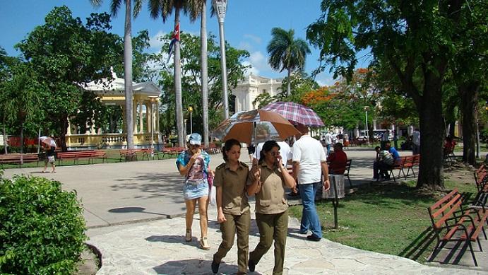 El tiempo en Cuba para el 26 de abril de 2017