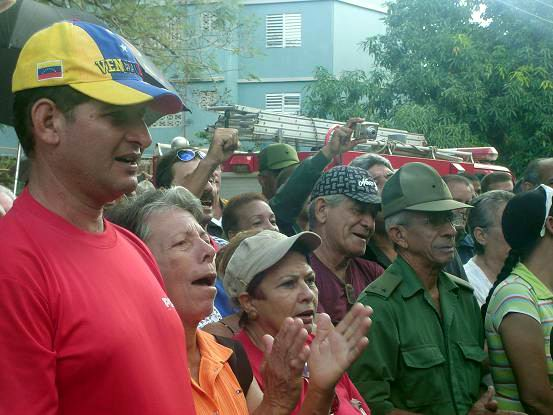Día de la Defensa en Holguín. Foto: Aroldo García