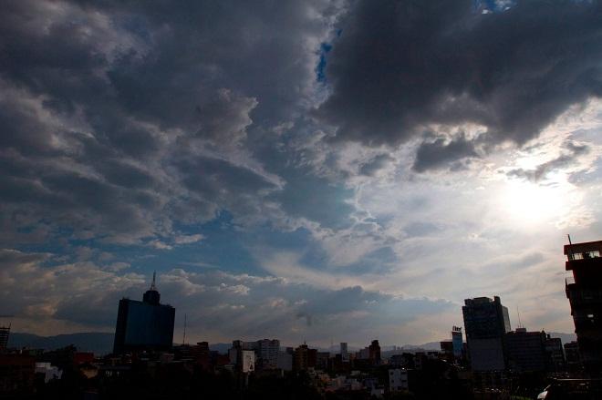 Día nublado. Clima - Meteorología. Cuba