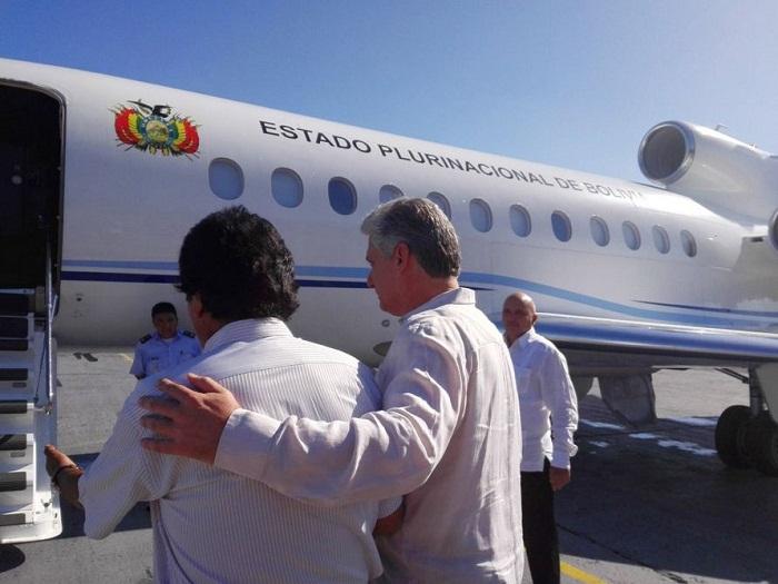 Concluye presidente de Bolivia breve visita de trabajo a Cuba
