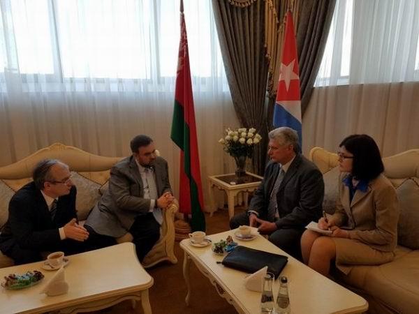 Cuban First VP visits Belarus