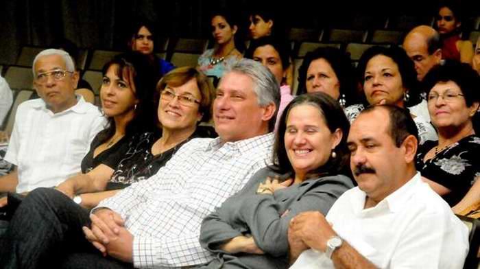 Preside Díaz-Canel acto de graduación de la Escuela Superior de Cuadros. (Archivo) Foto: Oriol de la Cruz