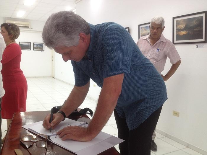 Elogia Díaz-Canel labores de reanimación  en Pinar del Río